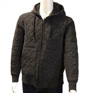 Banana Republic quilted long sleeve hoodie, Size L